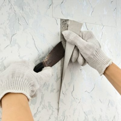 Cómo quitar papel pintado de una pared de forma fácil y rápida