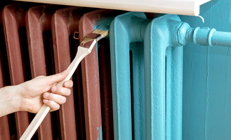 pintura para radiadores
