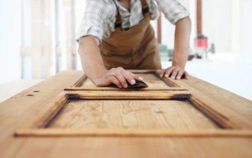 cómo quitar pintura de la madera