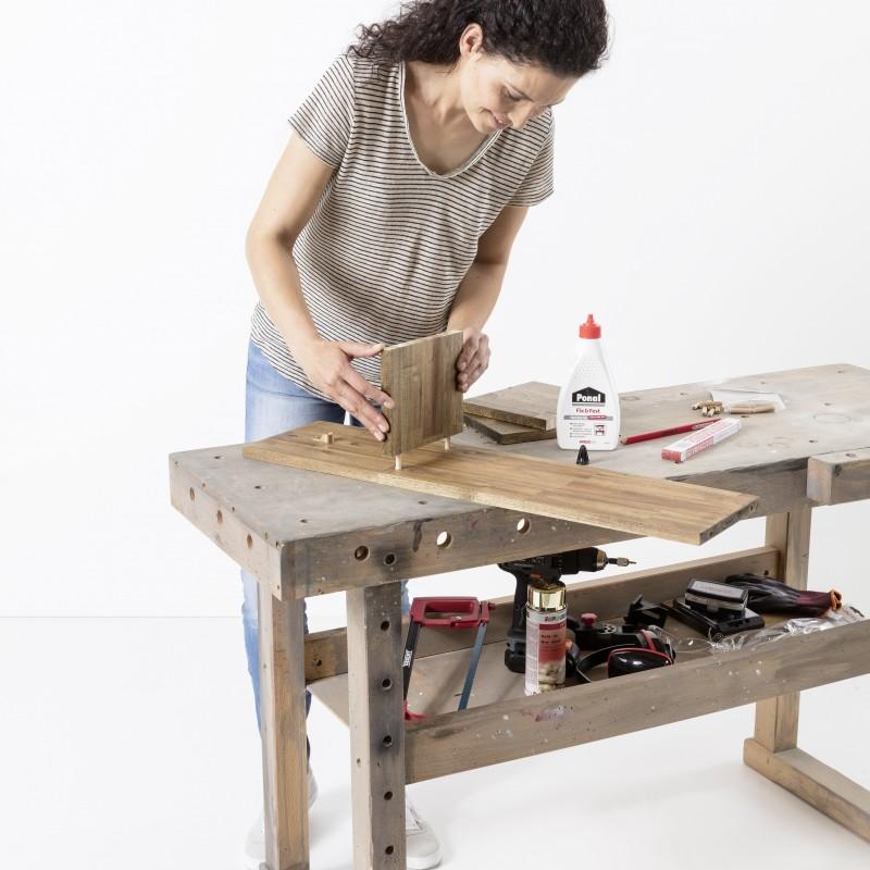 Como construir un portarrollos de papel higiénico - Paso 5