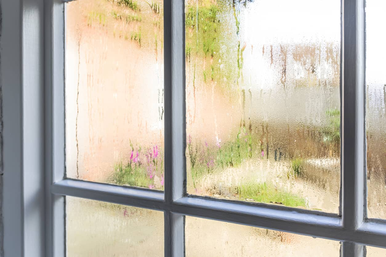 condensación ventanas