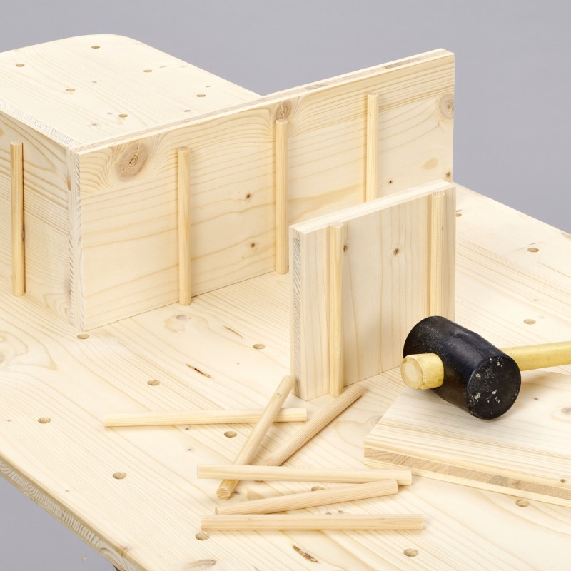 paso 4-construir estantería de pared