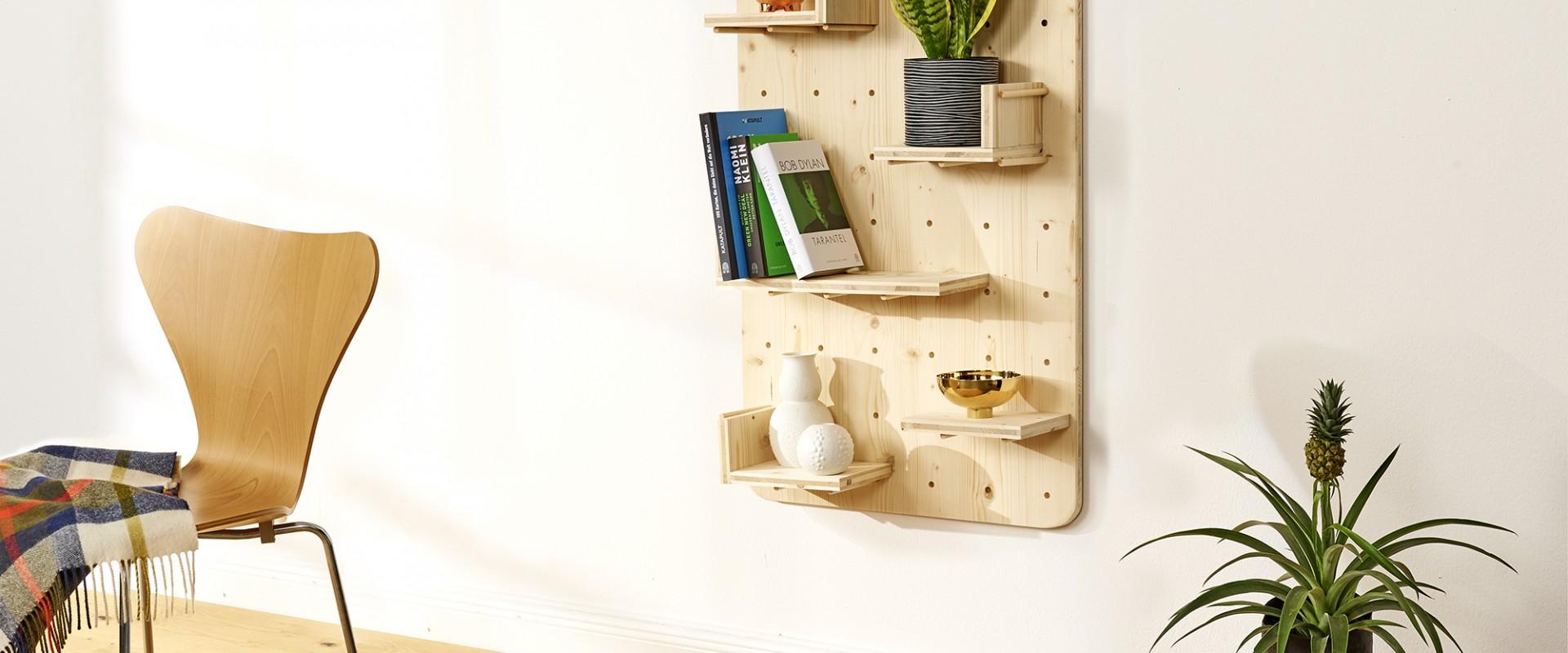 como construir una estantería de madera