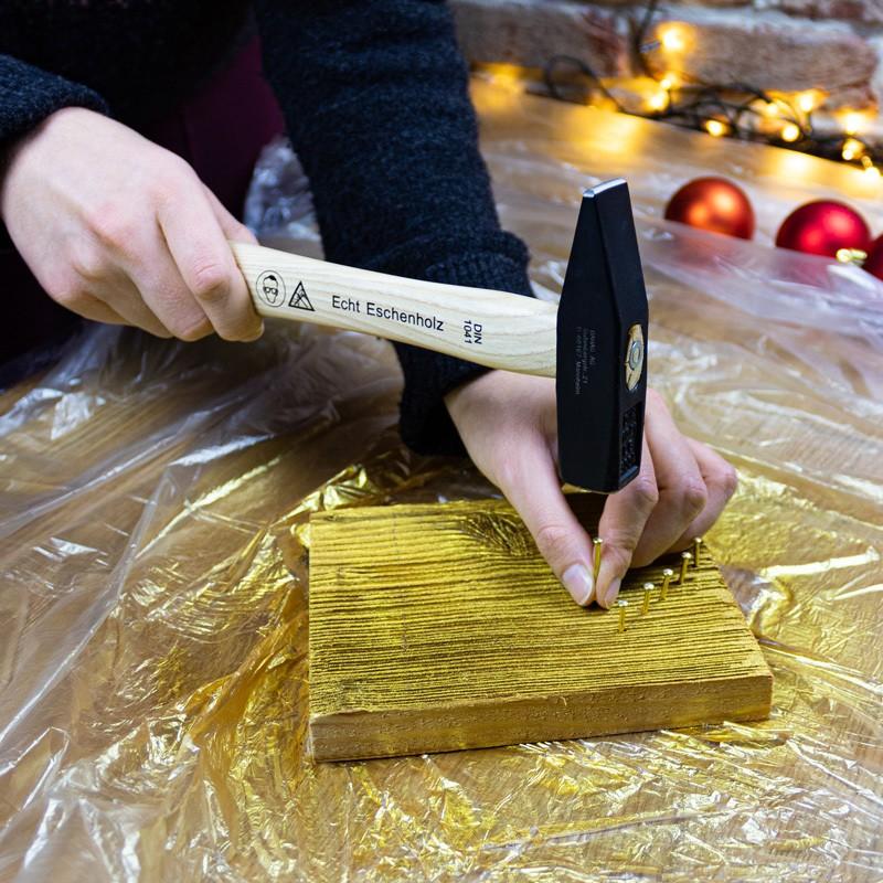 Crear tarjeta de Navidad de madera-paso3