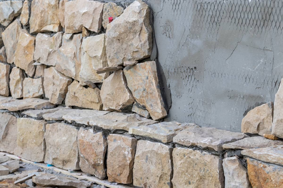 Revestimiento pared exterior