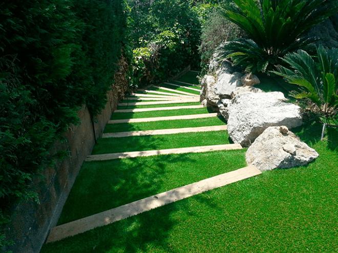 jardines con poco mantenimiento
