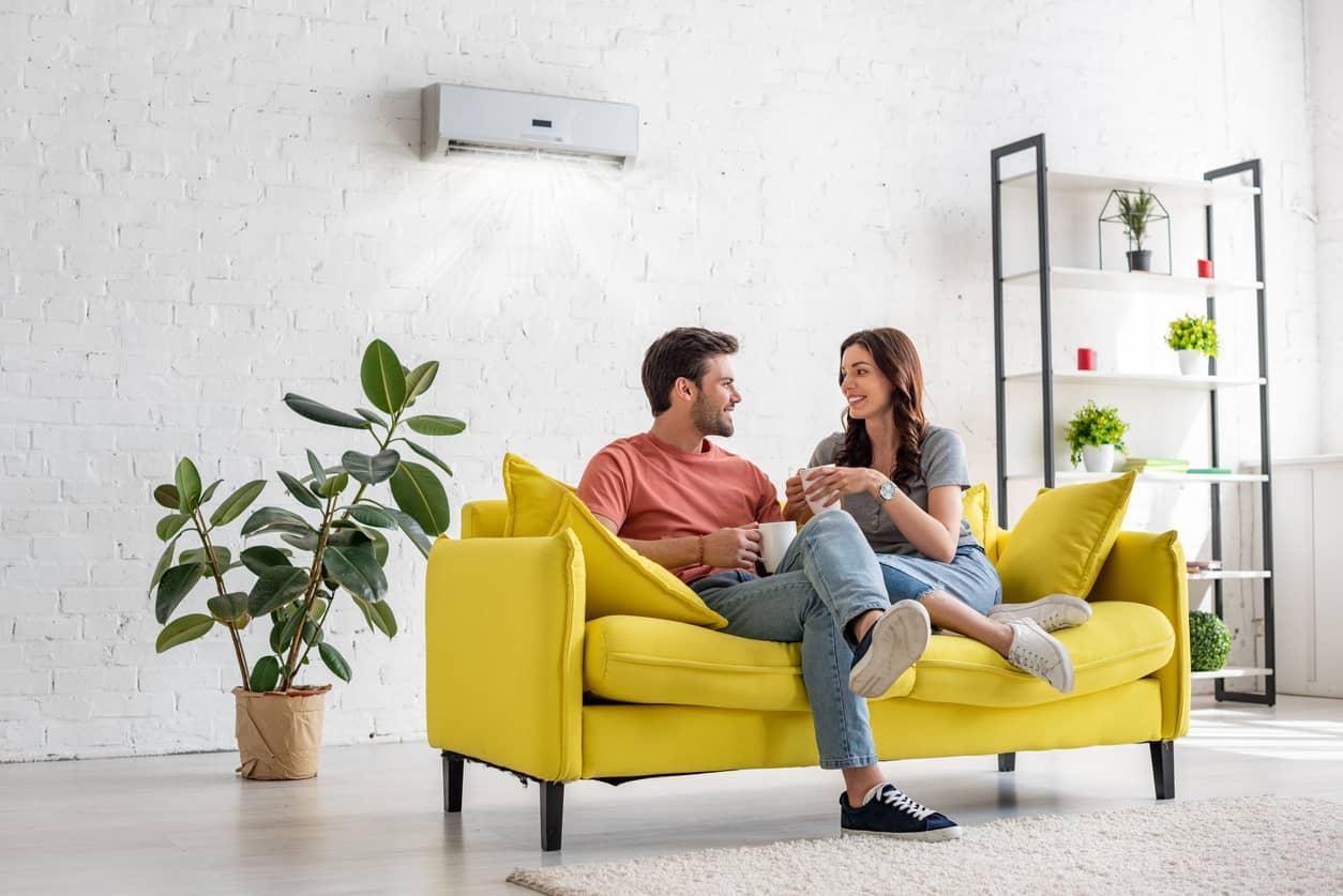 preinstalación de aire acondicionado