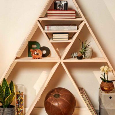 Cómo hacer una estantería de madera original