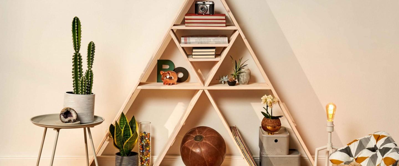 Cómo hacer una estantería de madera