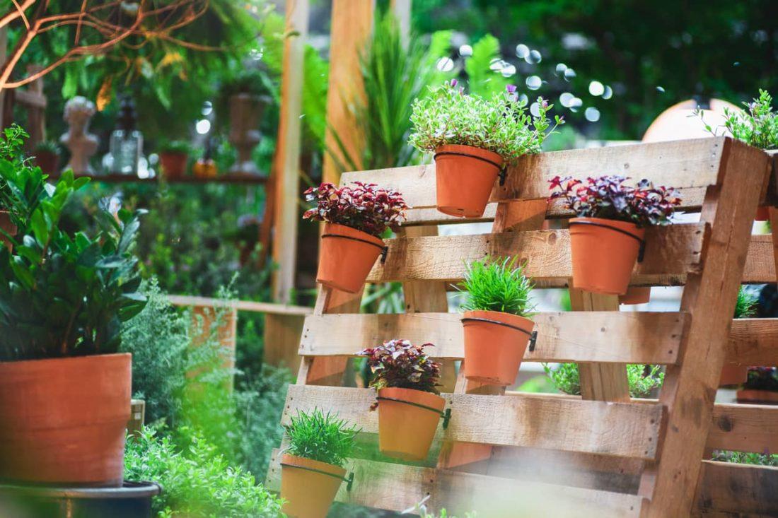 jardineras con palets