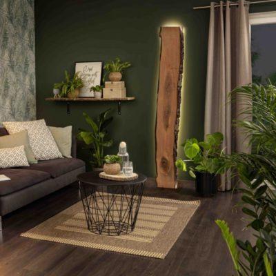 Lámpara de madera: cómo crear un ambiente acogedor