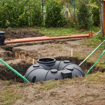 Depósito de agua subterráneo: tu propio suministro de agua