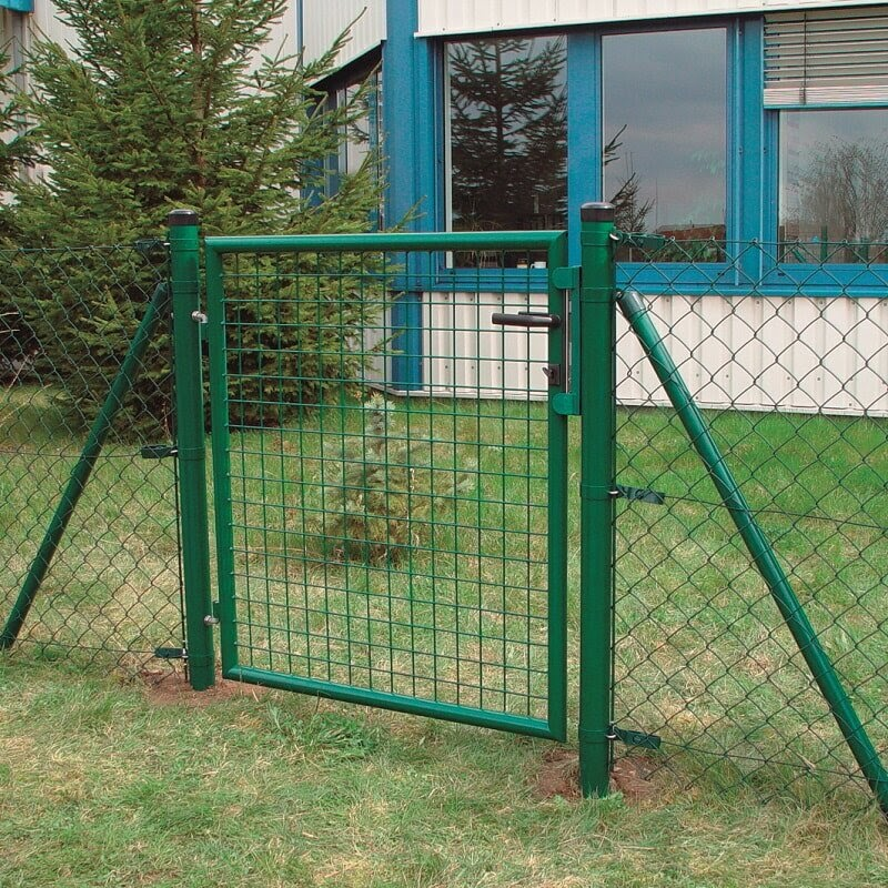 poner valla metalica jardin paso a paso