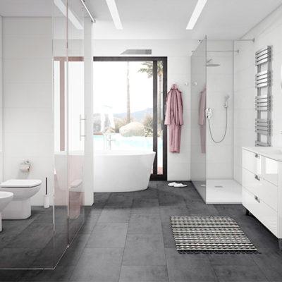 4 tendencias para dar un nuevo aire a tu baño