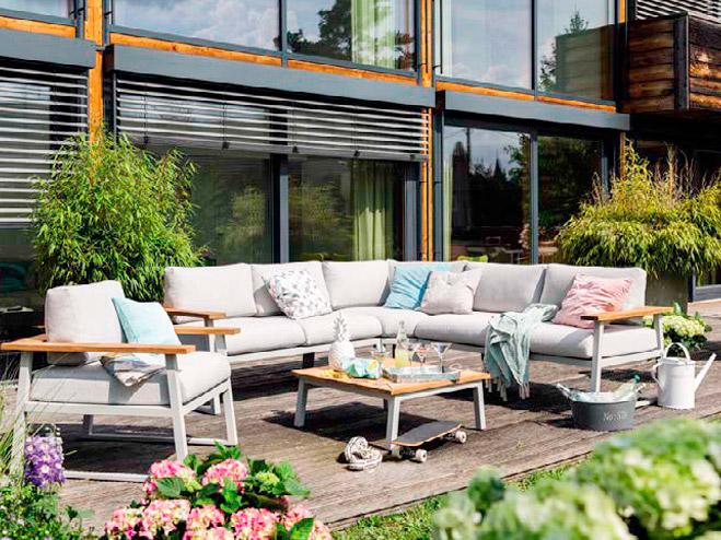 tipos de muebles de jardin