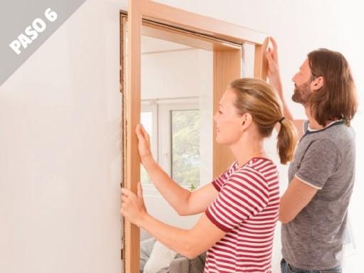 Como instalar puertas de interior jambas