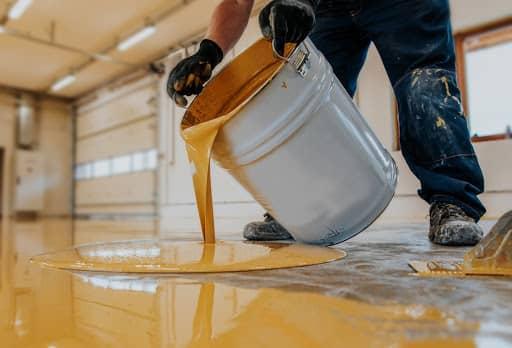 Pintar suelo terrazo
