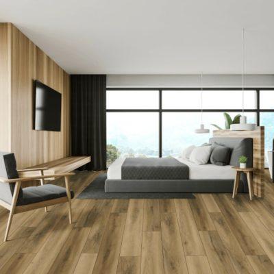 Formas de colocar un suelo de imitación de la madera