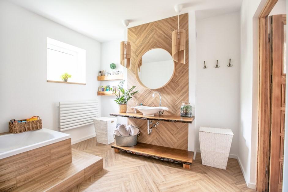Revestimiento paredes baño sin obras