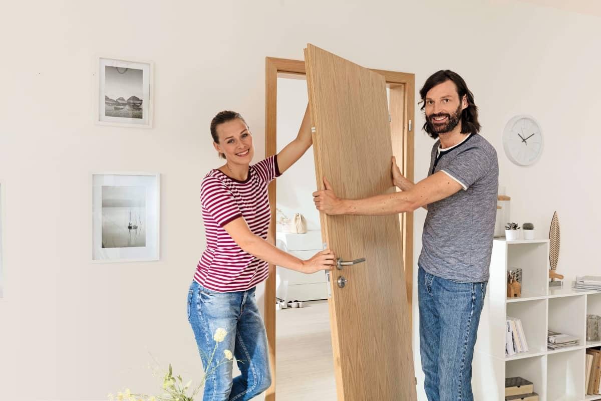 como quitar una puerta