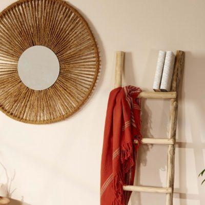 Idea DIY: espejo de pared étnico, ¿cómo hacerlo?