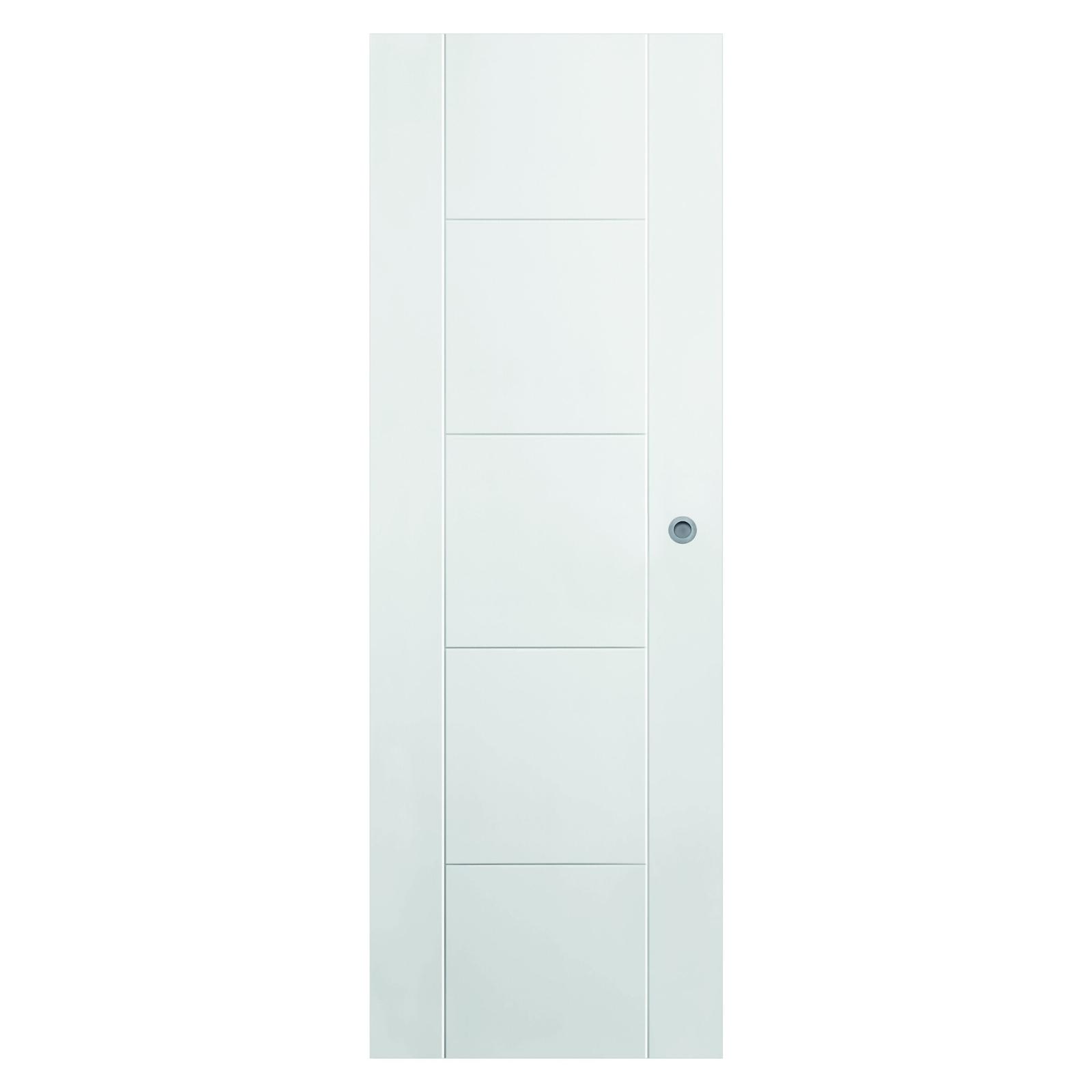 colgar puerta corredera en pladur