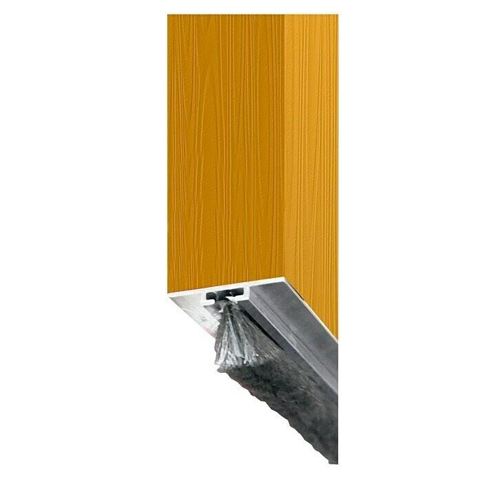 Aislar puerta de entrada burlete bajo la puerta