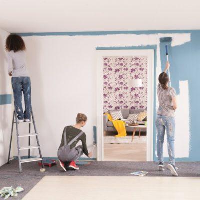 ¡Aprende a pintar tú mismo tus paredes!