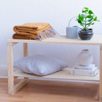 Cómo hacer un banco de madera decorativo para tu hogar