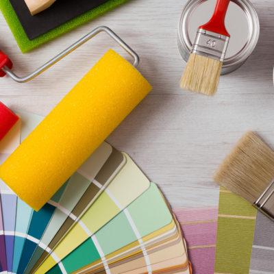Pintar con brocha o rodillo: ¿cuál es el mejor?