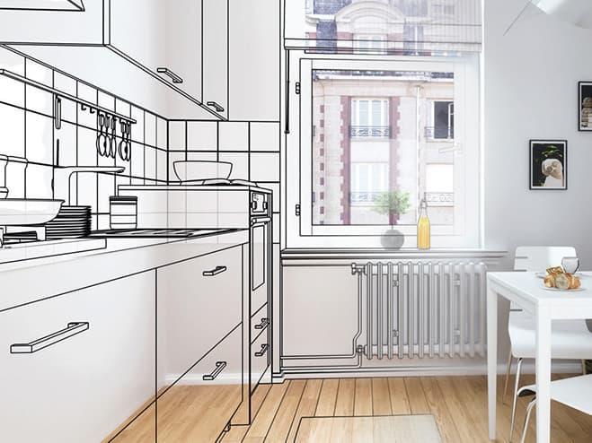ideas para reformar cocina obra