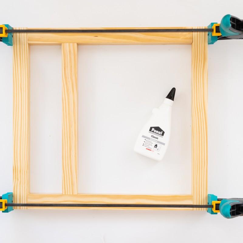 hacer banco de madera