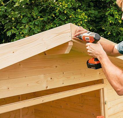 montar caseta de madera
