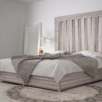 Cómo decorar la pared del cabecero de la cama de matrimonio