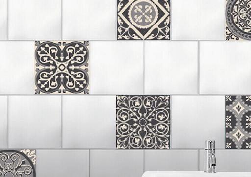 vinilos para cubrir azulejos baño